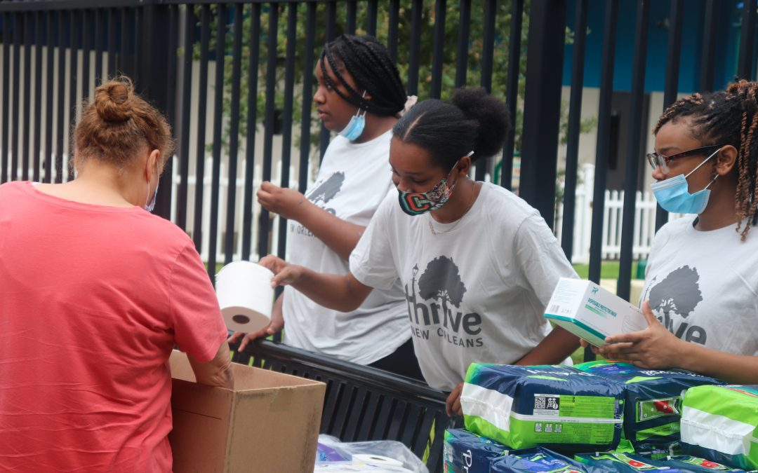 Thrive Pivots to Serve New Orleans During Hurricane Ida: 700+ Neighbors Supplied